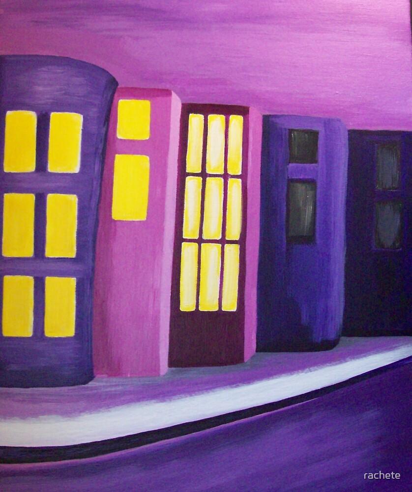 City at Night by rachete