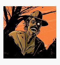 Zombie Doc Photographic Print