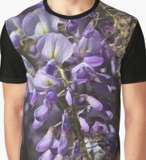 Beautiful Wisteria Spring Delight Graphic T-Shirt