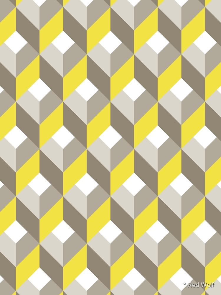 Geometric Pattern: Box: Winter by redwolfoz