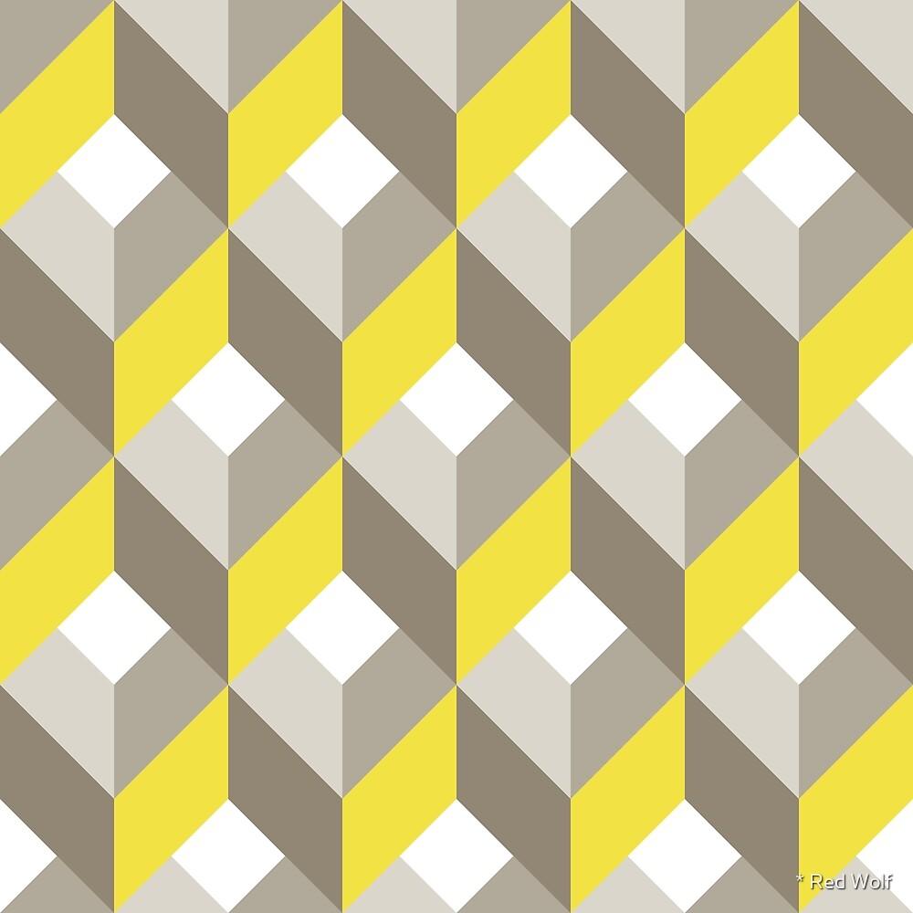 Geometric Pattern: Box: Winter by * Red Wolf