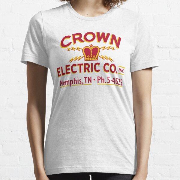 """""""Crown Electric Co. - Memphis"""" 1954  - Elvis' Truck Essential T-Shirt"""