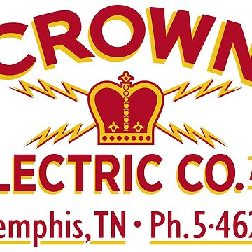 """Crown Electric Co. - Memphis"" 1954  - Elvis' Truck by vertigocreative"