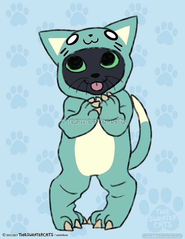 thesweatercats - Cat Onesie Lincoln by thesweatercats
