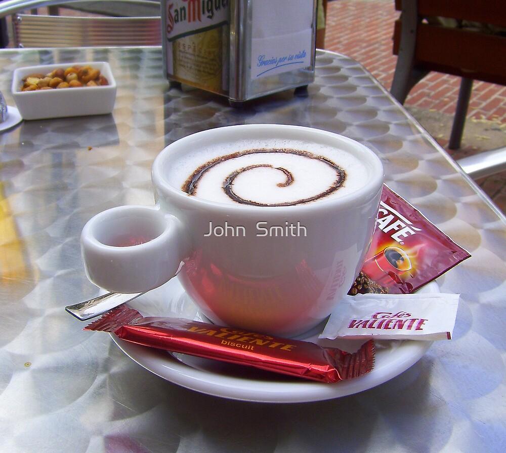 """""""Coffee break."""" by John  Smith"""
