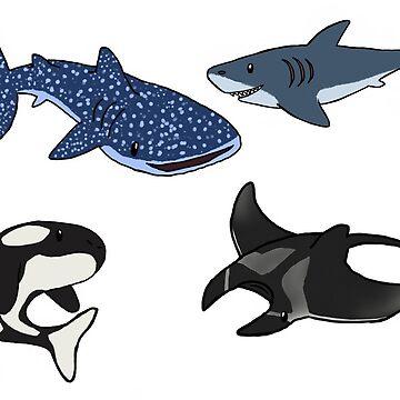 Sea Life by zoe-wilson