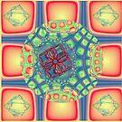 Retro Squares V. 2 by Julie Miles