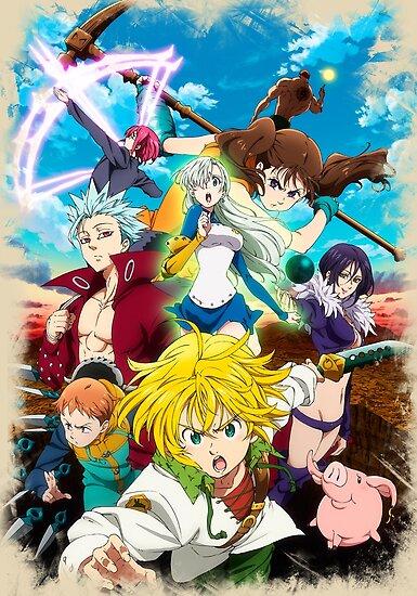 The Seven Deadly Sins (Nanatsu no Taizai) Sezona 2 Epizoda 24 KRAJ