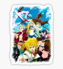 The Seven Deadly Sins: Revival of The Commandments Sticker