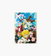 The Seven Deadly Sins: Revival of The Commandments Art Board