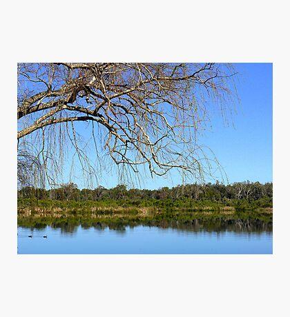 The Lake and Me Photographic Print