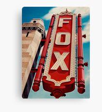 The Fox Theater Canvas Print