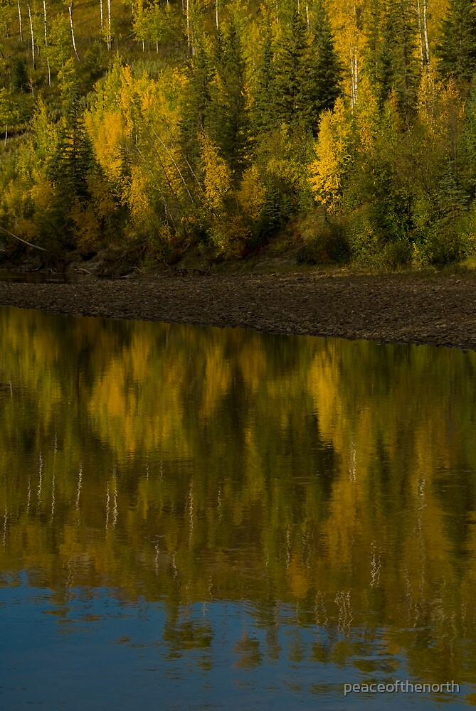 Halfway River #2 by peaceofthenorth