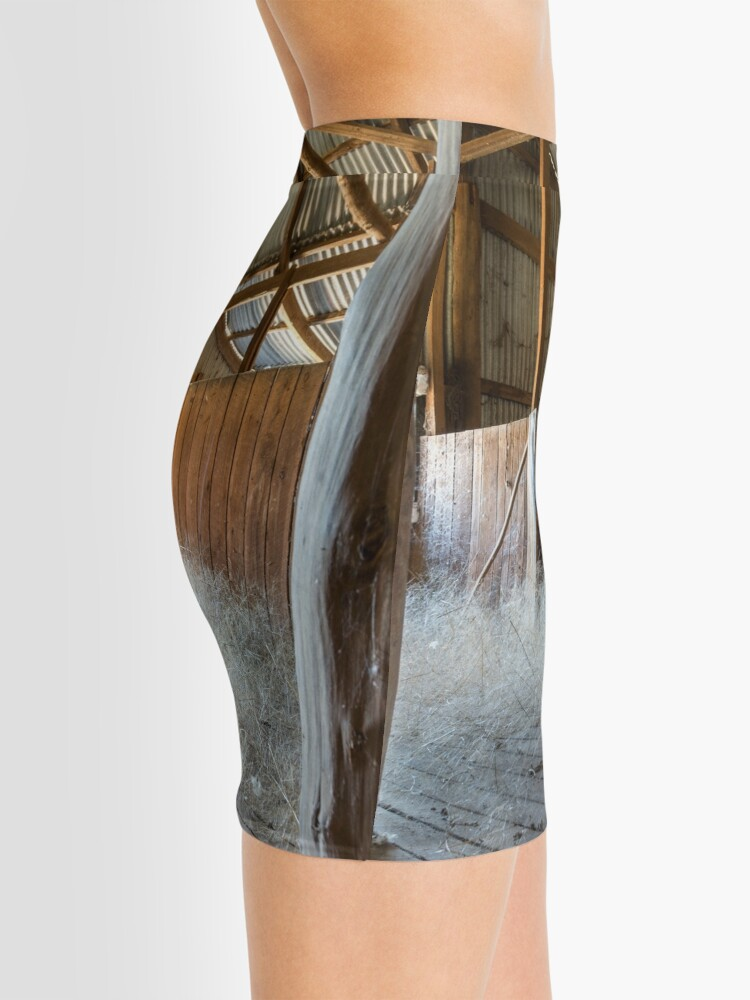 Alternate view of Old Shearing Shed Mini Skirt