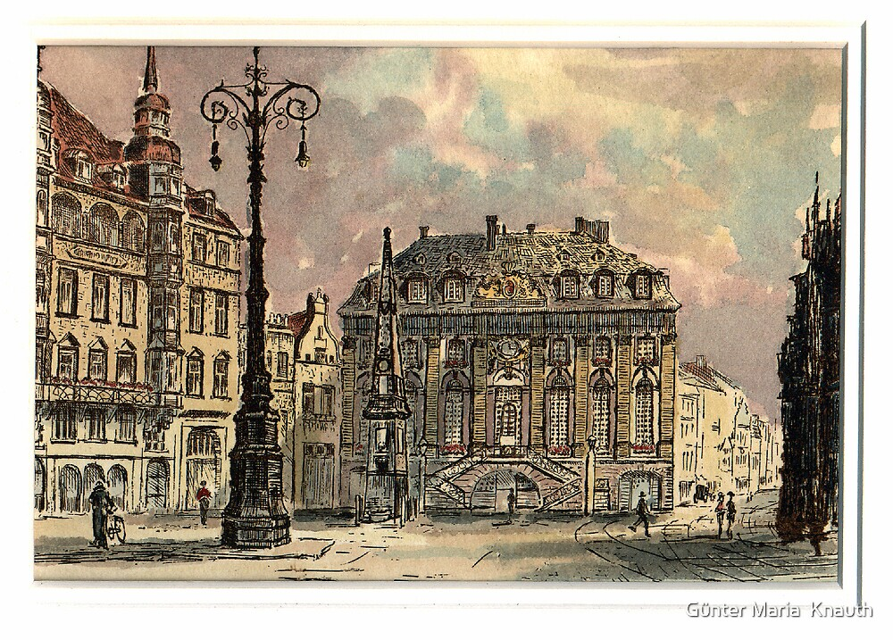 old buildings by Günter Maria  Knauth