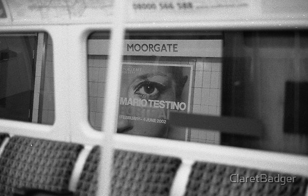 Mario, Kate and Me on the Northern Line by ClaretBadger