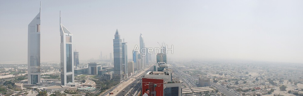 Sheikh Zayed Road by AgentH