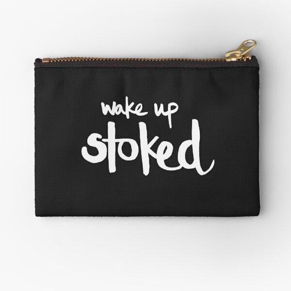 Wake Up Stoked | Surf Lifestyle Täschchen