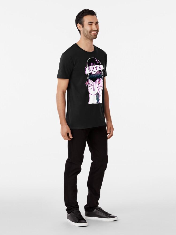 Alternative Ansicht von CONFESSION - Traurige japanische Ästhetik Premium T-Shirt