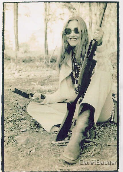 Gun girl by ClaretBadger