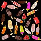 It's ice cream on a stick time! Yum, yes please! by Robyn Hammond