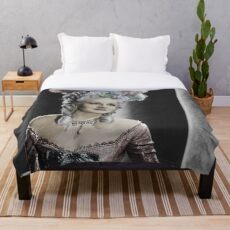 Norma Shearer Throw Blanket