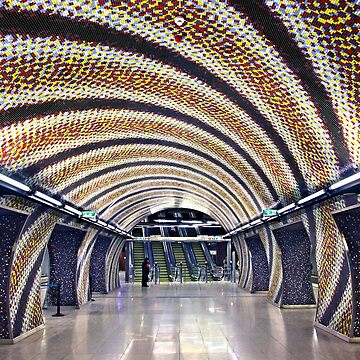 Szent Gellert Ter Metro Station - Budapest by Cretense72
