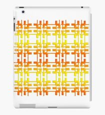 Abstract geometric gradient texture. iPad Case/Skin