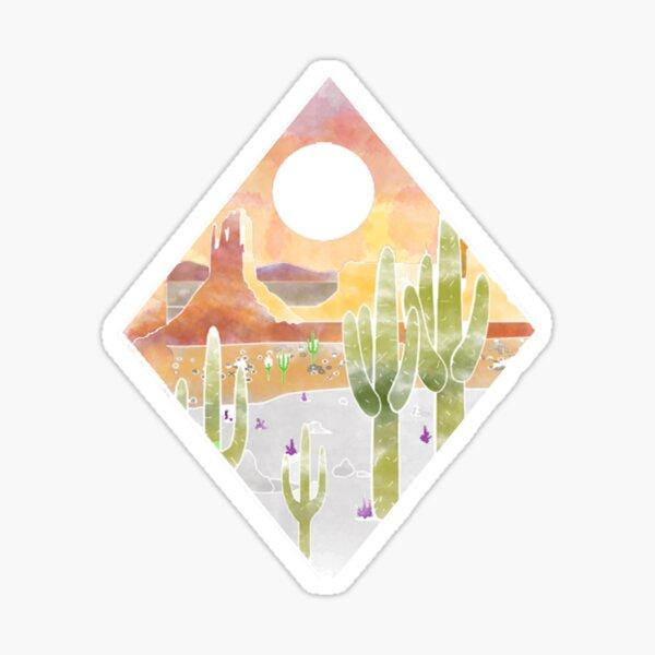 Postre desierto Pegatina