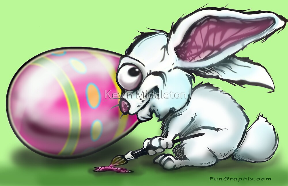 Easter Bunny by Kevin Middleton
