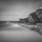 Portreath harbour Cornwall by eddiej