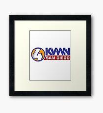 Channel 4 News Team Framed Print