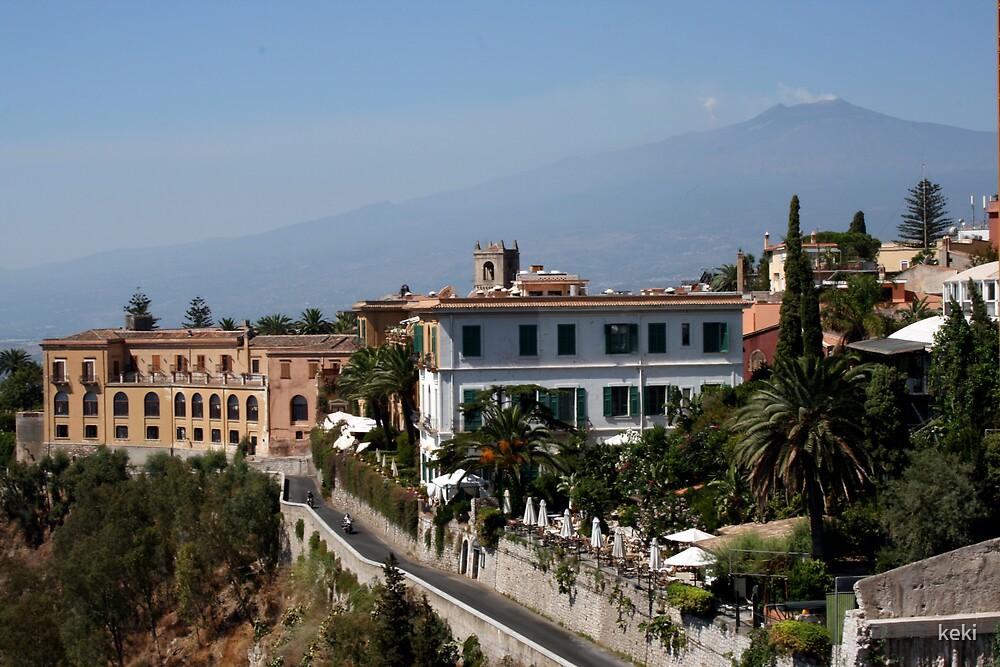 Etna from taormina by keki
