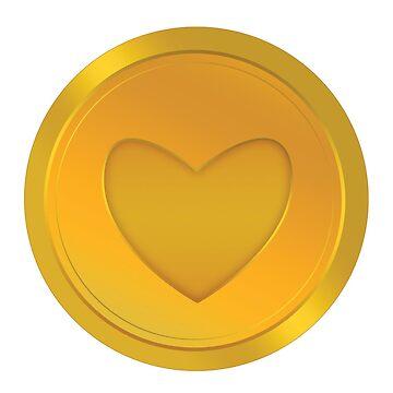 Heart Badge by Winterrr