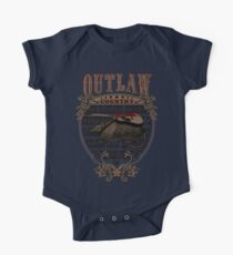 Outlaw Country Americana. Armadillo con guitarra Kids Clothes
