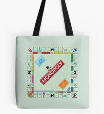 Monopoly Board Tote Bag