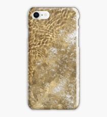 Sand and Water Abstract iPhone Case/Skin