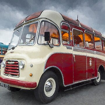 Old Bus by maryloufletcher