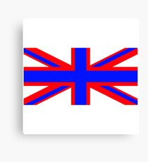 UNION JACK WITH A TWIST Canvas Print