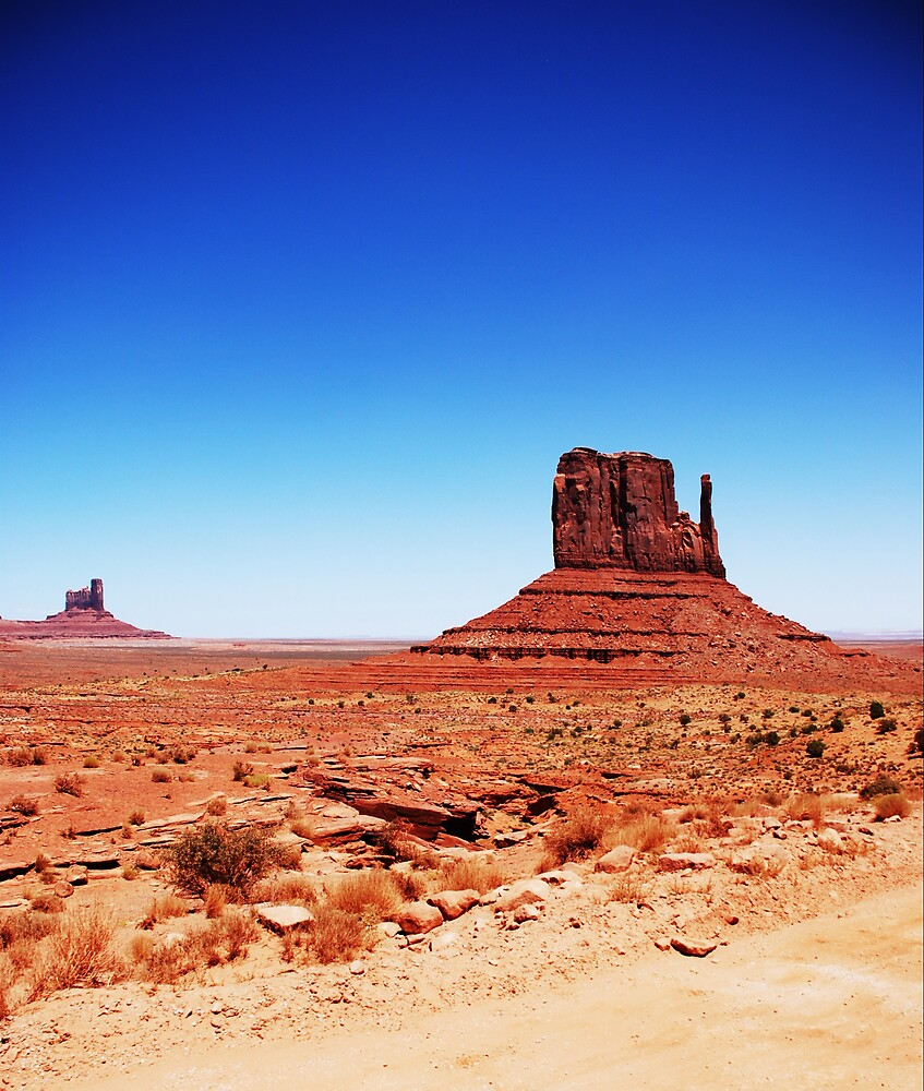 Monument Valley... by Jenson Yazzie