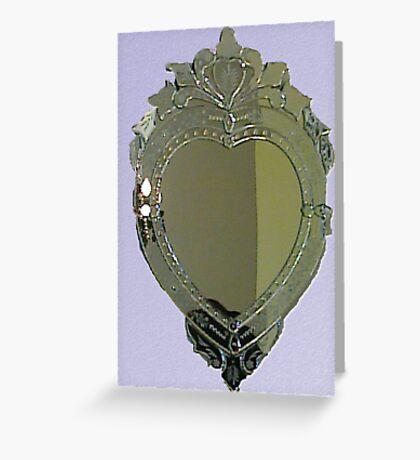 Heart Mirror Greeting Card