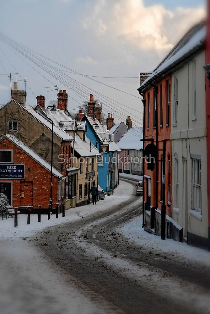 Bridge Street, Bungay, Suffolk, UK Jan 2010 by Simon Duckworth