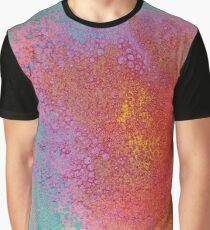 Colored Spume Trip Graphic T-Shirt