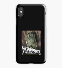 Metropolis - Movie Poster, Retro, Vintage iPhone Case/Skin