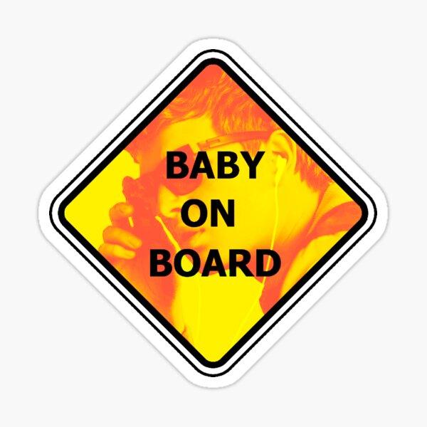 CAUTION GRANDPARENT DRIVING Car Sign Sticker Baby Child Children Safety Kids