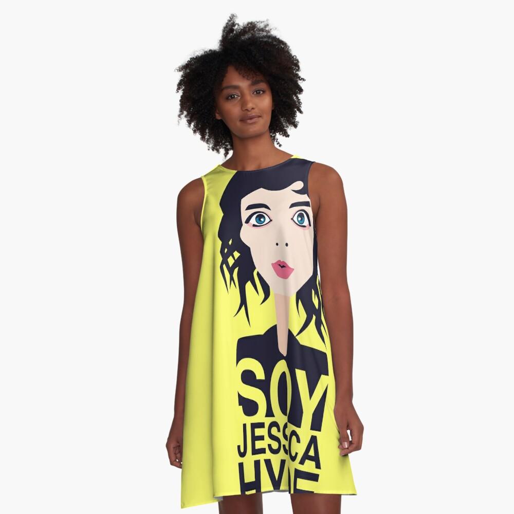 Jessica Hyde A-Line Dress