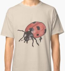 Realistic Drawing of a Lady Bird Classic T-Shirt