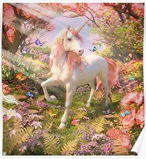 Unicorn Spring Poster
