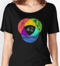 And The Answer Is... Women's Relaxed Fit T-Shirt