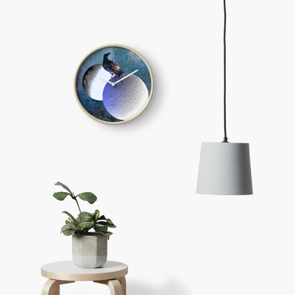 New worlds thought Crow Clock